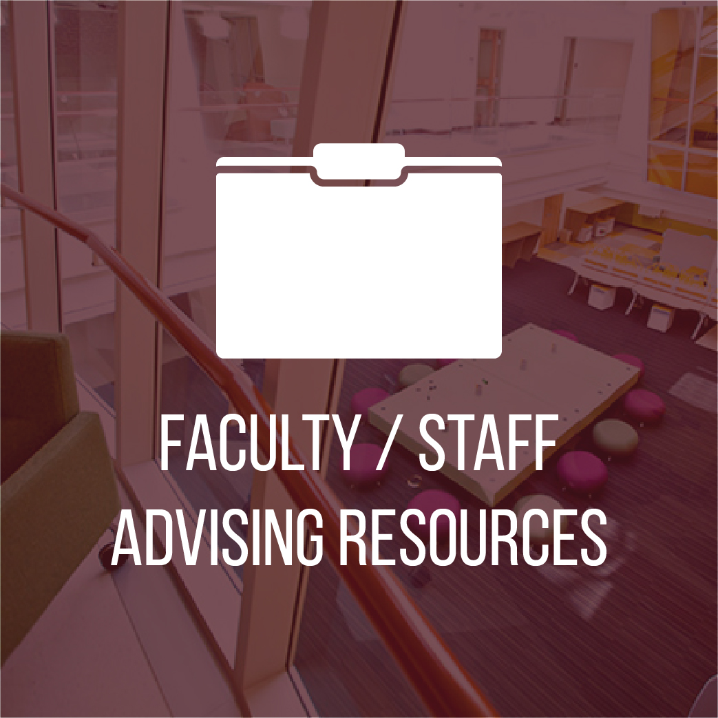 Faculty/Staff Advising Resources