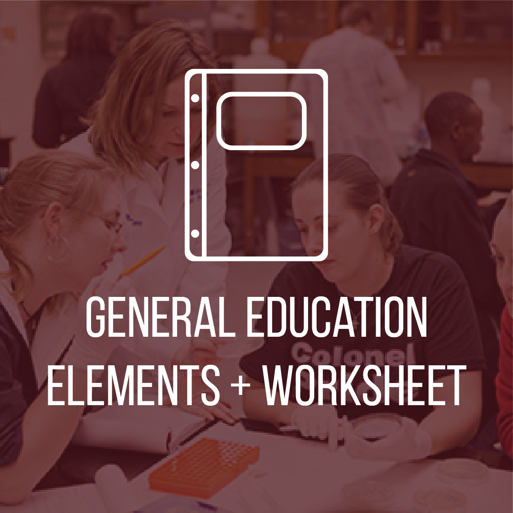Gen Ed Worksheet